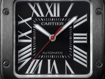 Cartier Santos 100 Carbon & Ballon Bleu De Cartier Carbon Watches Watch Releases