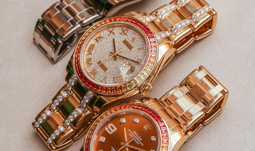 Rolex Datejust Pearlmaster 39 Watches With New 3235 Movement