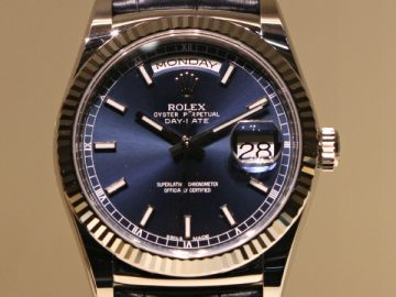 Baselworld 2013: Rolex Day-Date New Colors Announced Watch Releases